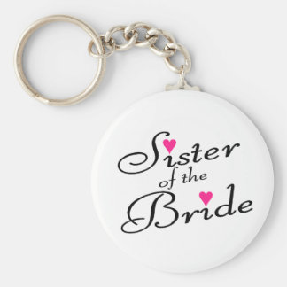 Sister Of The Bride Key Ring