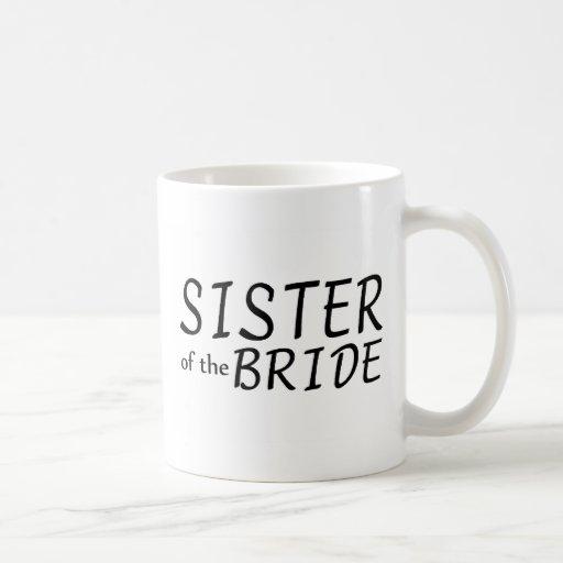 Sister Of The Bride Coffee Mugs
