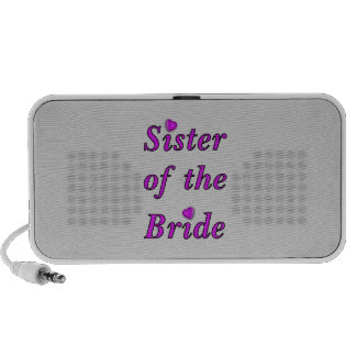 Sister of the Bride Simply Love Portable Speakers