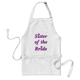 Sister of the Bride Simply Love Standard Apron