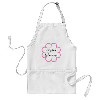 Sister Of The Groom Standard Apron