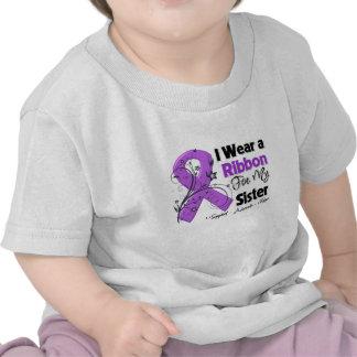 Sister - Pancreatic Cancer Ribbon Shirt