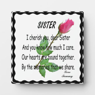 SISTER-PLAQUE
