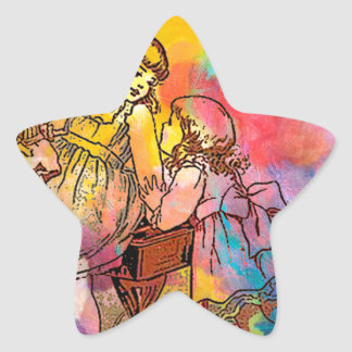 SISTER PLAY 3.jpg Star Sticker