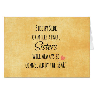 Sister Quote Card
