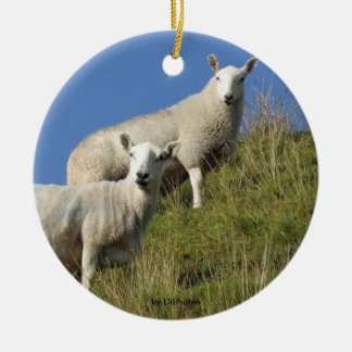 Sister Sheep Ornament