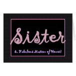 SISTER Thank You Matron of Honour - Plaid
