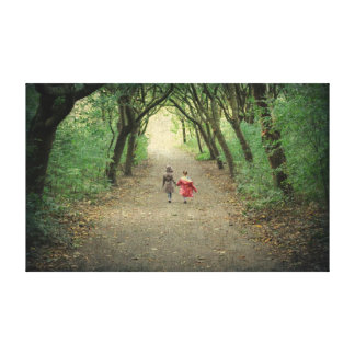 Sister Walk With Me Canvas Print