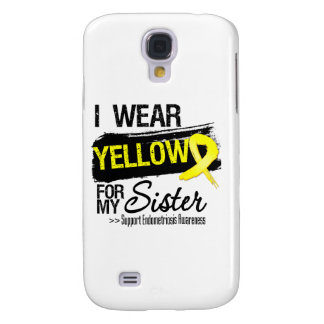 Sister Yellow Ribbon Endometriosis HTC Vivid Cases