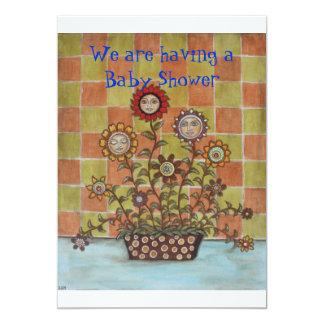 Sisters 13 Cm X 18 Cm Invitation Card