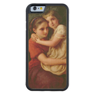 Sisters, 1868 carved maple iPhone 6 bumper case