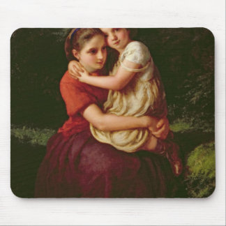 Sisters, 1868 mouse mat