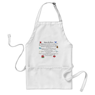 Sisters Are Forever Poem Adult Apron