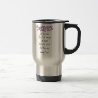 Sisters are like Stars Travel Mug