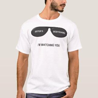 Sister's Bodyguard Glasses - For Men T-Shirt
