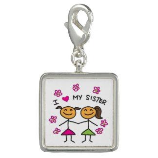 SISTERS  Bracelet Charms