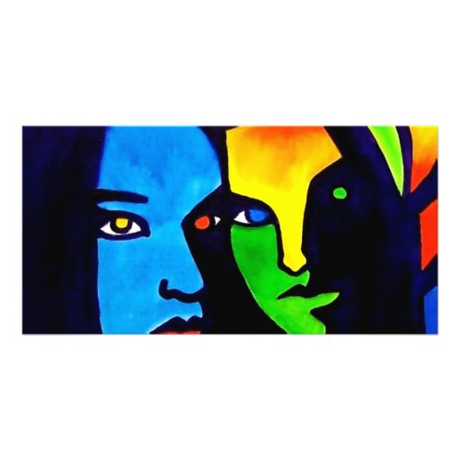 Sisters by Piliero Picture Card