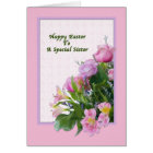 Sister's Easter Card with Spring Flowers