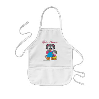 Sisters Forever: Penny and Patty Penguin Kids' Apron