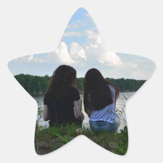Sisters/Friends Star Sticker