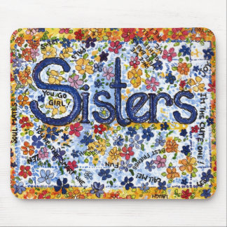 Sisters Mouse Mat