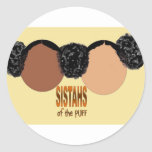 Sisters of the Puff Round Sticker