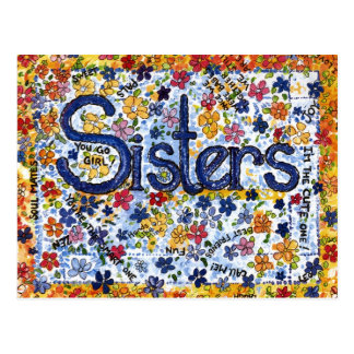Sisters Postcards