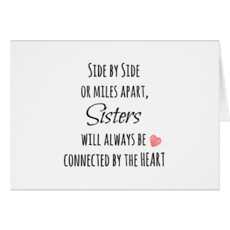 Sisters Quote Card