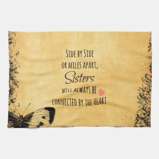 Sisters Quote Tea Towels