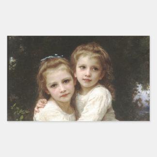 Sisters Rectangular Sticker