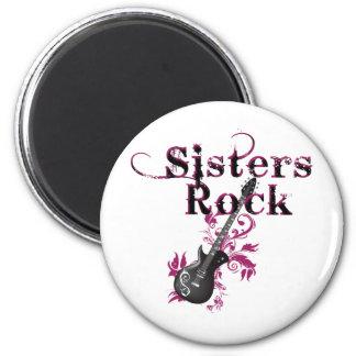 Sisters Rock Magnet