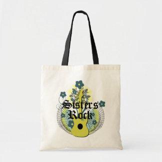 Sisters Rock totebag Budget Tote Bag