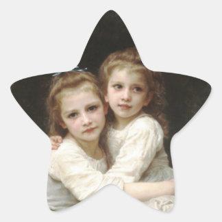 Sisters Star Sticker