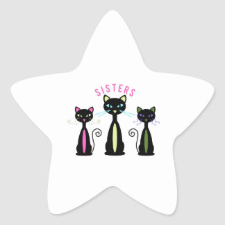 Sisters Star Stickers