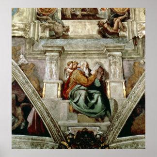 Sistine Chapel Ceiling, 1508-12 Posters