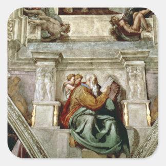 Sistine Chapel Ceiling, 1508-12 Square Sticker