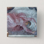 Sistine Chapel Ceiling 2 15 Cm Square Badge