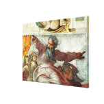 Sistine Chapel Ceiling 2 Canvas Print