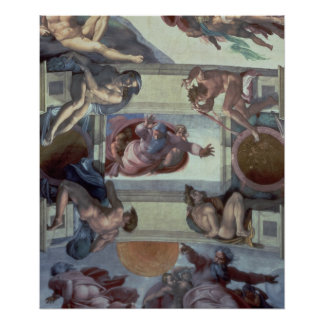 Sistine Chapel Ceiling 2 Poster