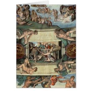 Sistine Chapel Ceiling Card
