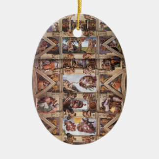 Sistine Chapel Ceiling Christmas Ornament