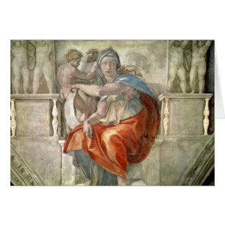 Sistine Chapel Ceiling: Delphic Sibyl Card