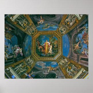 Sistine Chapel Ceiling Detail Poster
