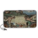 Sistine Chapel Ceiling Laptop Speaker