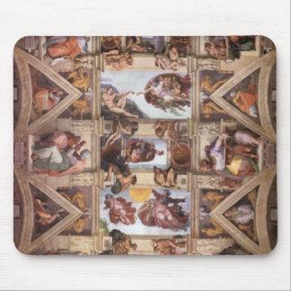 Sistine Chapel Ceiling Mouse Mat