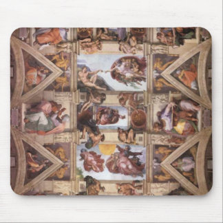 Sistine Chapel Ceiling Mouse Pad