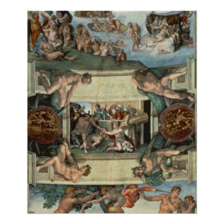 Sistine Chapel Ceiling Posters