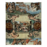 Sistine Chapel Ceiling Posters