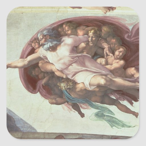 Sistine Chapel Ceiling Stickers