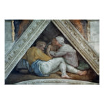 Sistine Chapel Ceiling: The Ancestors of Christ Poster